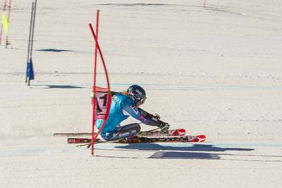 Mikaela Shiffrin  Giant Slalom training at Vail Resort's Golden Peak. Photo: Mark Epstein/US Ski Team