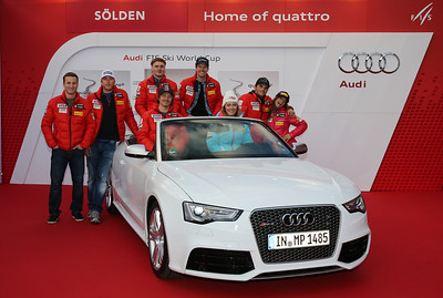 2013 Audi FIS Alpine World Cup - Soelden, Austria Photo compliments of Audi