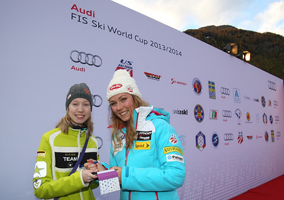 Mikaela Shiffrin 2013 Audi FIS Alpine World Cup - Soelden, Austria Photo compliments of Audi
