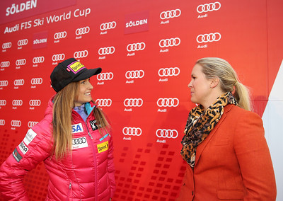Julia Mancuso 2013 Audi FIS Alpine World Cup - Soelden, Austria Photo compliments of Audi
