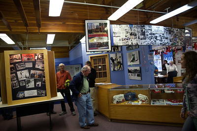 1960/64 Alumni at 1960 Olympic Museum in Squaw Valley