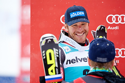 2013 Audi Birds of Prey FIS World Cup in Beaver Creek, CO. Men's Giant Slalom Bode Miller Photo © Jesse Starr/Vail Resorts Photo may be used for editorial purposes only.