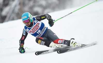 2013 Audi Birds of Prey FIS World Cup in Beaver Creek, CO. Men's Super G Ted Ligety Photo © Jack Affleck/Vail Resorts Photo may be used for editorial purposes only.