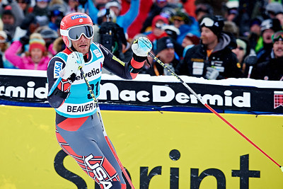 2013 Audi Birds of Prey FIS World Cup in Beaver Creek, CO. Men's Giant Slalom Bode Miller Photo © Jack Affleck/Vail Resorts Photo may be used for editorial purposes only.