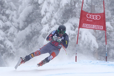 2013 Audi Birds of Prey FIS World Cup in Beaver Creek, CO. Men's Downhill Marco Sullivan Photo © Jack Affleck/Vail Resorts Photo may be used for editorial purposes only.
