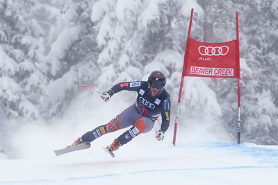 2013 Audi Birds of Prey FIS World Cup in Beaver Creek, CO. Men's Downhill Travis Ganong Photo © Jack Affleck/Vail Resorts Photo may be used for editorial purposes only.