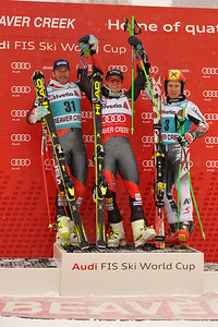 Ted Ligety and Bode Miller produced a riveting one-two giant slalom finish for the U.S. Ski Team Sunday to close the Audi Birds of Prey race week in Beaver Creek.  Photo: Grafton Smith