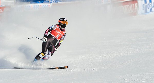 Stacey Cook - Lake Louise - Downhill Training