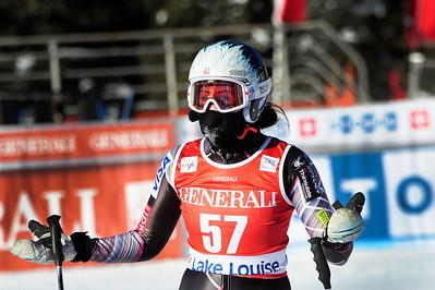 Jackie Wiles - Lake Louise - Downhill Training