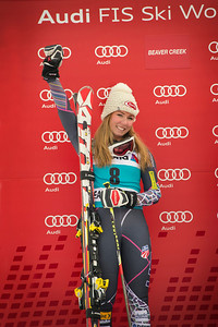2013 Audi Raptor FIS World Cup at Beaver Creek, CO. Women's GS Photo: Grafton Smith