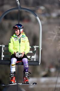 Slalom 2014 Audi FIS Ski World Cup at the Nature Valley Aspen Winternational in Aspen, CO. Photo © Grafton Smith