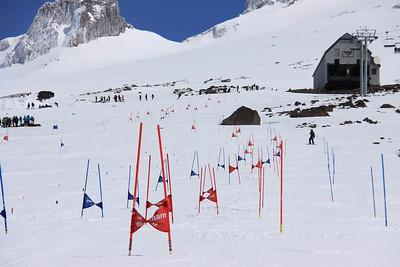 Men's Slalom Camp in Mt. Hood, OR - June 2014 Photo: Lester Keller/U.S. Ski Team