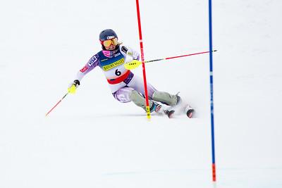 Paula Moltzan Women's Slalom 2015 Nature Valley U.S. Alpine Championships at Sugarloaf Mountain, Maine Photo: USSA