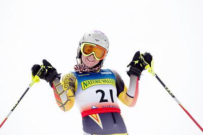 Madeleine Dekko Women's Slalom 2015 Nature Valley U.S. Alpine Championships at Sugarloaf Mountain, Maine Photo: USSA