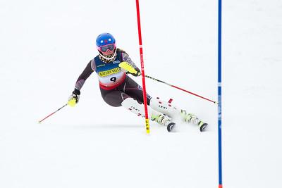 Megan McGrew Women's Slalom 2015 Nature Valley U.S. Alpine Championships at Sugarloaf Mountain, Maine Photo: USSA