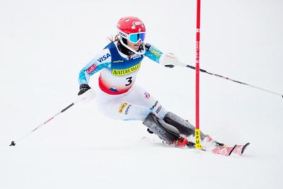 Hailey Duke Women's Slalom 2015 Nature Valley U.S. Alpine Championships at Sugarloaf Mountain, Maine Photo: USSA