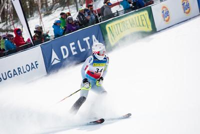 Francesca English Women's Slalom 2015 Nature Valley U.S. Alpine Championships at Sugarloaf Mountain, Maine Photo: USSA