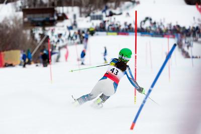 Lexi Calcagni Women's Slalom 2015 Nature Valley U.S. Alpine Championships at Sugarloaf Mountain, Maine Photo: USSA