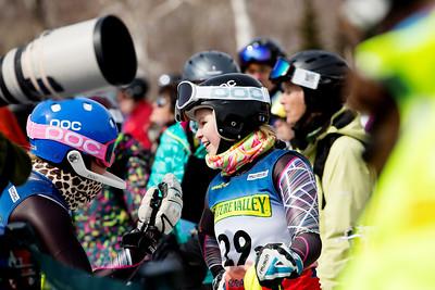 Women's Slalom 2015 Nature Valley U.S. Alpine Championships at Sugarloaf Mountain, Maine Photo: USSA