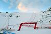 Dawn on the Rettenbach Glacier Race Course