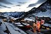 Dawn on the Rettenbach Glacier