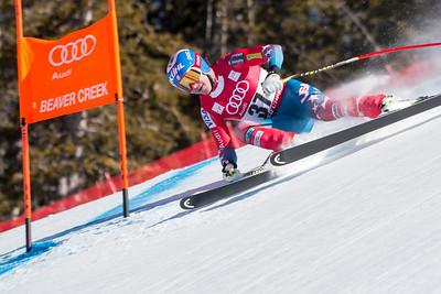 Jared Goldberg Downhill 2015 Audi FIS Ski World Cup - Audi Birds of Prey at Beaver Creek, CO Photo © Eric Schramm Photography