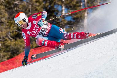 Marco Sullivan Downhill 2015 Audi FIS Ski World Cup - Audi Birds of Prey at Beaver Creek, CO Photo © Eric Schramm Photography