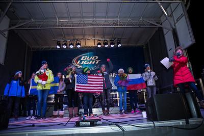 Mikaela Shiffrin Jamestown Revival Concert, Slalom Awards and Fireworks 2015 Nature Valley Aspen Winternational - Aspen, CO Photo © U.S. Ski Team