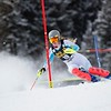 Resi Stiegler<br /> Slalom Day 2<br /> 2015 Nature Valley Aspen Winternational - Aspen, CO<br /> Photo © Kevin Pritchard<br /> * Photo may be used for editorial use only