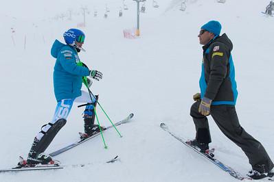 U.S. Alpine Ski Team training at Ohau, New Zealand. Photo © Ola Thorsen/US Embassy