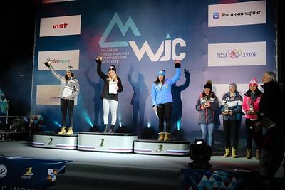 Breezy Johnson Junior World Ski Championships in Sochi, Russia. (USSA-Chip Knight)