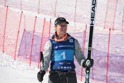 Erik Arvidsson 2016 FIS Alpine Junior World Championships in Sochi, Russia Photo © Pavel Cherepanov