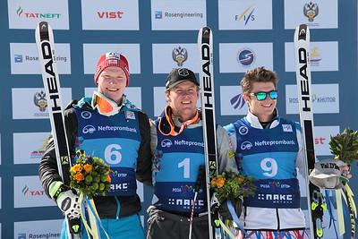 Erik Arvidsson (1st) 2016 FIS Alpine Junior World Championships in Sochi, Russia Photo © Pavel Cherepanov