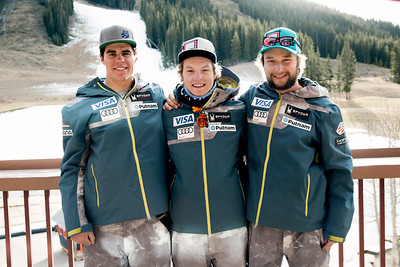 2016-17 Men's U.S. Alpine D Team  (l-r) XXXXX  Photo: U.S. Ski Team