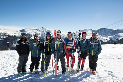 2016-17 Men's U.S. Alpine Tech Team  (l-r)  Josh Applegate, AJ Hoelke, Ted Ligety, Ryan Cochran-Siegle, Tommy Ford, Brennan Rubie, Ian Garner Missing: David Chodounsky, Tim Jitloff, Forest Carey, Parker Gray, Danijel Andesilic, Primoz Finzgar  Photo: Troy Tully/U.S. Ski Team