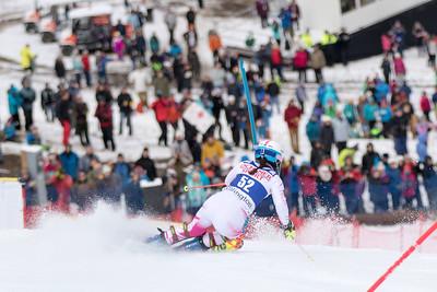 Megan McJames Slalom 2016 Audi FIS World Cup - Killington, VT Photo © Reese Brown
