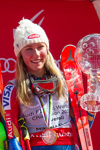 2016-17 Alpine Overall World Cup Champion Crystal Globe 2017 Audi FIS Ski World Cup Finals in Aspen, Colorado Photo © Cody Downard