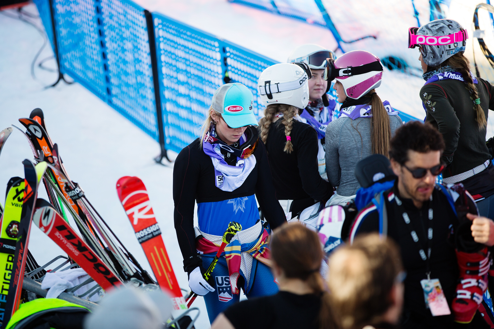 Mikaela Shiffrin GS 2017 Audi FIS Ski World Cup finals in Aspen, CO. Photo: U.S. Ski Team