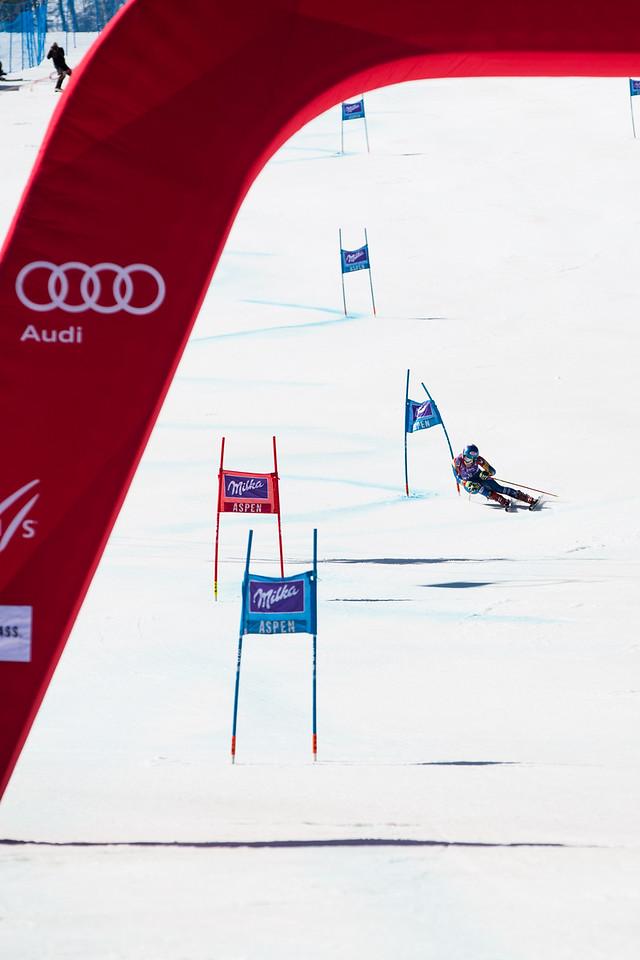 Mikaela Shiffrin GS 2017 Audi FIS Ski World Cup finals in Aspen, CO. Photo: U.S. Ski Team
