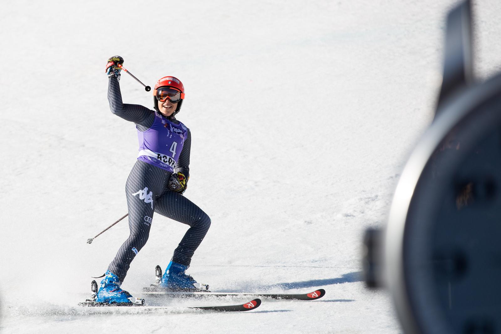 Federica Brignone GS 2017 Audi FIS Ski World Cup finals in Aspen, CO. Photo: U.S. Ski Team