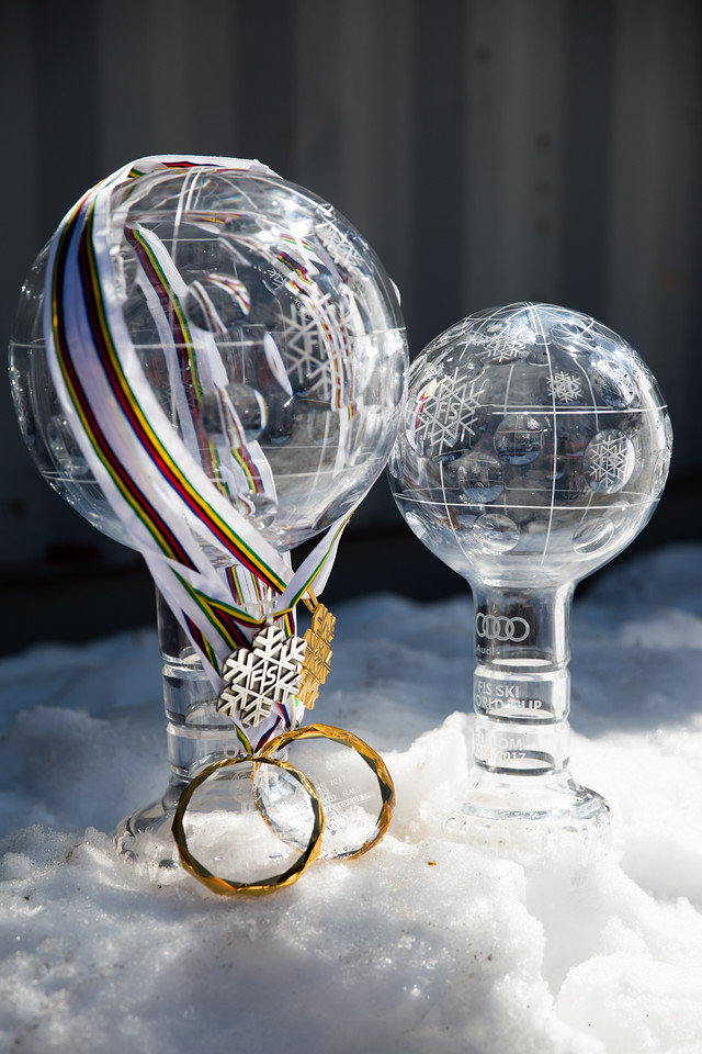 2016-17 Alpine Overall World Cup Champion Crystal Globe 2017 Audi FIS Ski World Cup finals in Aspen, CO. Photo: U.S. Ski Team