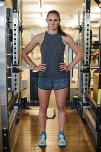 Alice Merryweather U.S. Ski Team workout at the Center of Excellence in Park City, UT Photo: U.S. Ski Team