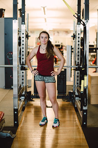 Galena Wardle U.S. Ski Team workout at the Center of Excellence in Park City, UT Photo: U.S. Ski Team