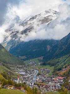 Nestled in the Alps