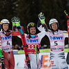 Henrik Kristoffersen, Marcel Hirscher and Stefan Luitz<br /> GS<br /> 2017 Audi Birds of Prey Alpine World Cup at Beaver Creek Creek, CO<br /> Photo: U.S. Ski & Snowboard