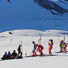2017 U.S. Alpine Ski Team training camp in Chile<br /> Men's downhill training<br /> Photo © Sarah Ackerson