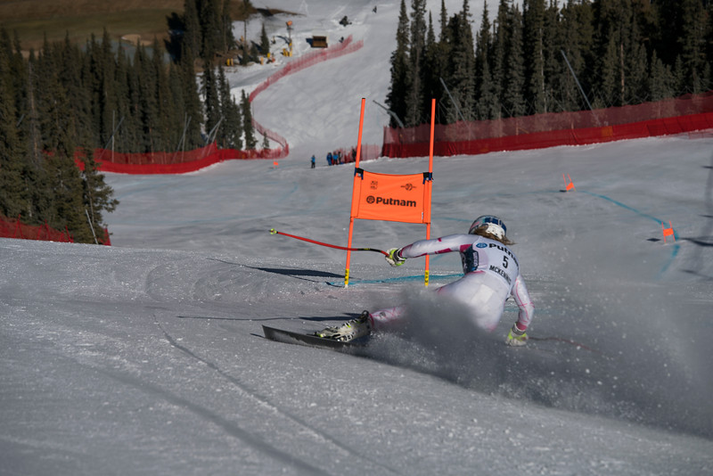 Alice McKennis<br /> 2017 U.S. Ski Team training at the Copper Speed Center, Copper Mountain, CO<br /> Photo © Troy Tully // Please tag on Instagram @troysef<br /> EDITORIAL USE ONLY - for rights usage, email troy.tully@yahoo.com