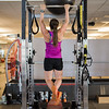 Breezy Johnson working out at the COE.<br /> Photo: U.S. Ski & Snowboard