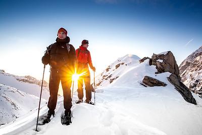Winter Climb Weissmies