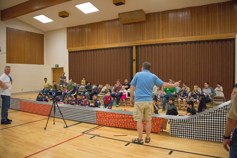 Alpine District Pinewood Derby April 23 2016